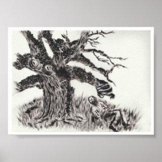 """""""El árbol """" Póster"""