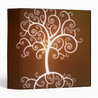 El árbol que brilla intensamente