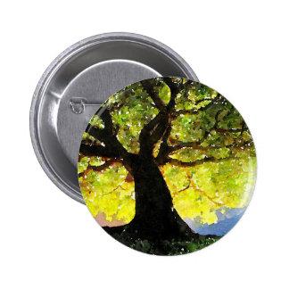 El árbol que sube pin redondo de 2 pulgadas