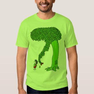 El árbol que toma playera