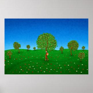 El árbol que viaja póster