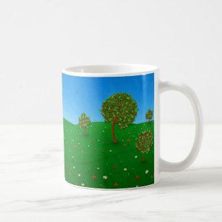 El árbol que viaja taza de café