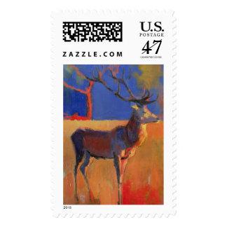 El árbol rojo 1995 sello