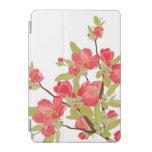 El árbol rosado florece mini caso del iPad Cover De iPad Mini