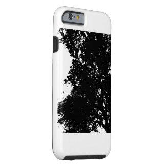 El ÁRBOL SILHO del iPhone 6/6s de la casamata de Funda Resistente iPhone 6