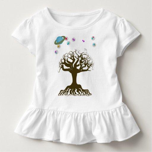 El árbol y el cielo mágico playera