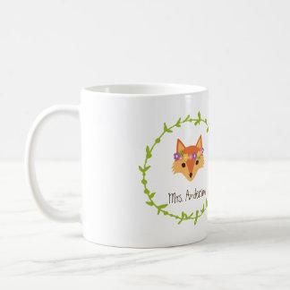 El arbolado caprichoso Foxes Sr. y a señora Taza Clásica