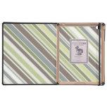 El arbolado colorea la caja del iPad del modelo de iPad Coberturas