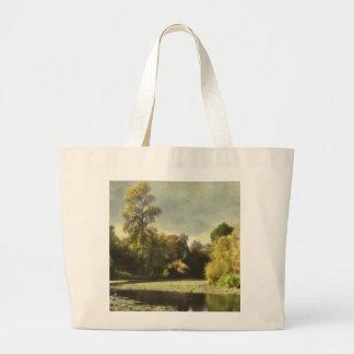 El arboreto bolsa lienzo