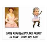 el arbusto, eisenhower_mamie, algunos republicanos postal