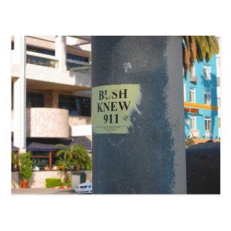 """el """"arbusto sabía… """" tarjetas postales"""