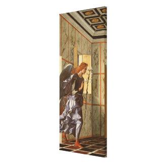 El arcángel Gabriel, del anuncio dipty Lona Estirada Galerías