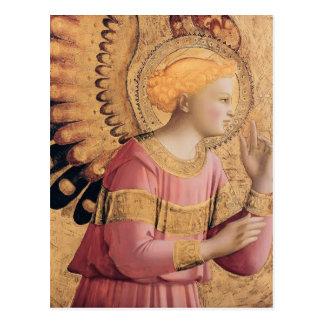 El arcángel Gabriel del Fra Angelico- anuncia Tarjetas Postales