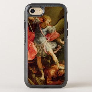 El arcángel Michael que derrota Satan Funda OtterBox Symmetry Para iPhone 7