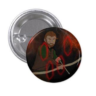 El Archer Pin Redondo De 1 Pulgada