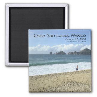 El Arco de Cabo San Lucas, Mexico (The Arch) 2 Inch Square Magnet