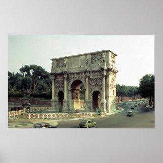 El arco de Constantina del noroeste Impresiones