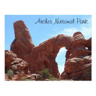 El arco de la torrecilla arquea el parque nacional postales