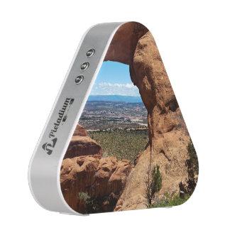 El arco de Navajo arquea el parque nacional Utah Altavoz Bluetooth