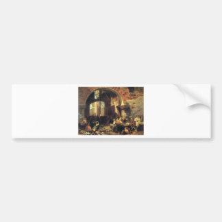 El arco de Octavius de Albert Bierstadt Pegatina Para Auto