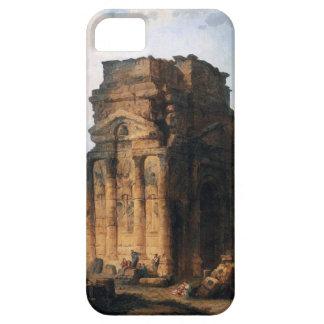 El Arco del Triunfo y el teatro del naranja Funda Para iPhone 5 Barely There