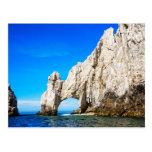 El arco famoso en Cabo San Lucas Tarjetas Postales