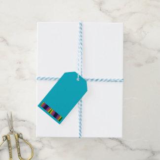 El arco iris agradece la etiqueta del regalo etiquetas para regalos