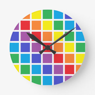El arco iris ajusta el reloj