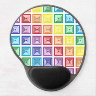 El arco iris ajustó el gel Mousepad Alfombrilla Gel