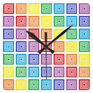 El arco iris ajustó el reloj