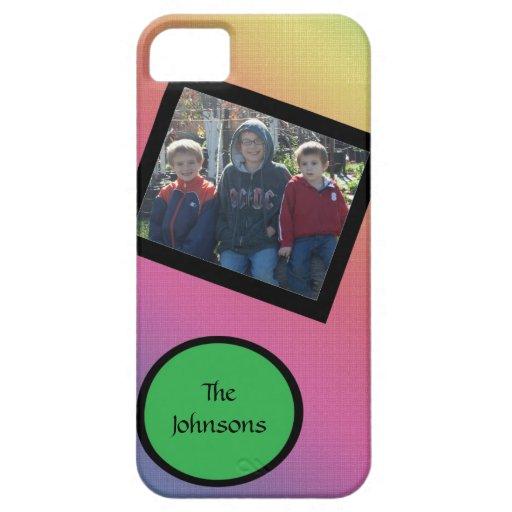 el arco iris añade una foto iPhone 5 fundas