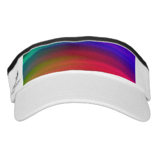 El arco iris apacible agita el extracto visera