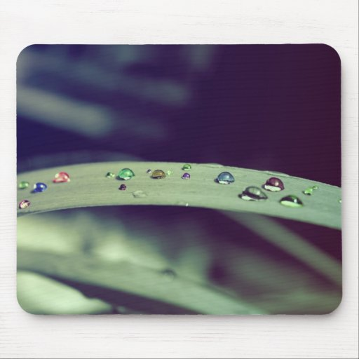 El arco iris cae Mousepad