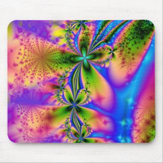 El arco iris chispea Mousepad