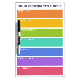El arco iris colorea al tablero de mensajes de enc pizarras