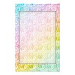 El arco iris colorea los efectos de escritorio papelería