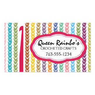 El arco iris colorea secuencias del hilado del gan tarjetas de visita