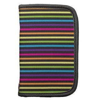 El arco iris colorido raya los regalos del modelo  organizador