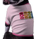 El arco iris de Frenchie adopta Camiseta De Perro