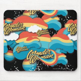 El arco iris de la Mujer Maravilla se nubla 1 Mousepads