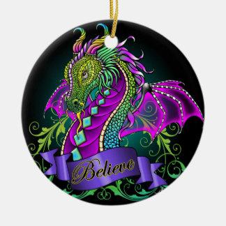 """El arco iris de """"Sonya"""" cree el ornamento del arte Adorno De Navidad"""