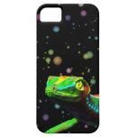 El arco iris del lagarto del Gecko colorea iPhone Funda Para iPhone 5 Barely There