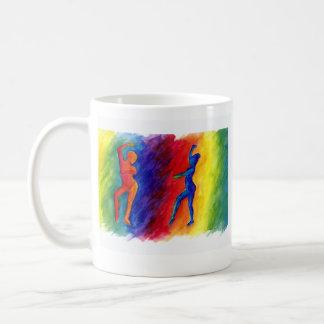El arco iris desgasifica la taza