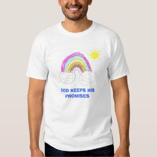 el arco iris, DIOS GUARDA SUS PROMESAS Playera