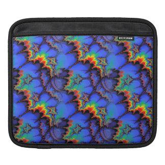 El arco iris eléctrico agita el modelo del arte funda para iPads