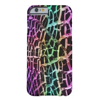 El arco iris enciende el iPhone abstracto de Funda De iPhone 6 Barely There