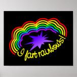 El arco iris Farts poster