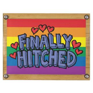 El arco iris finalmente enganchó los regalos de