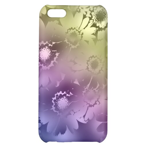 El arco iris florece la caja del iPhone 4