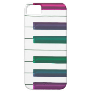 El arco iris fresco cierra el caso del iPhone 5c iPhone 5 Cobertura